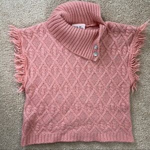 🎉5/20 SALE🎉pink 3T toddler short sleeved sweater